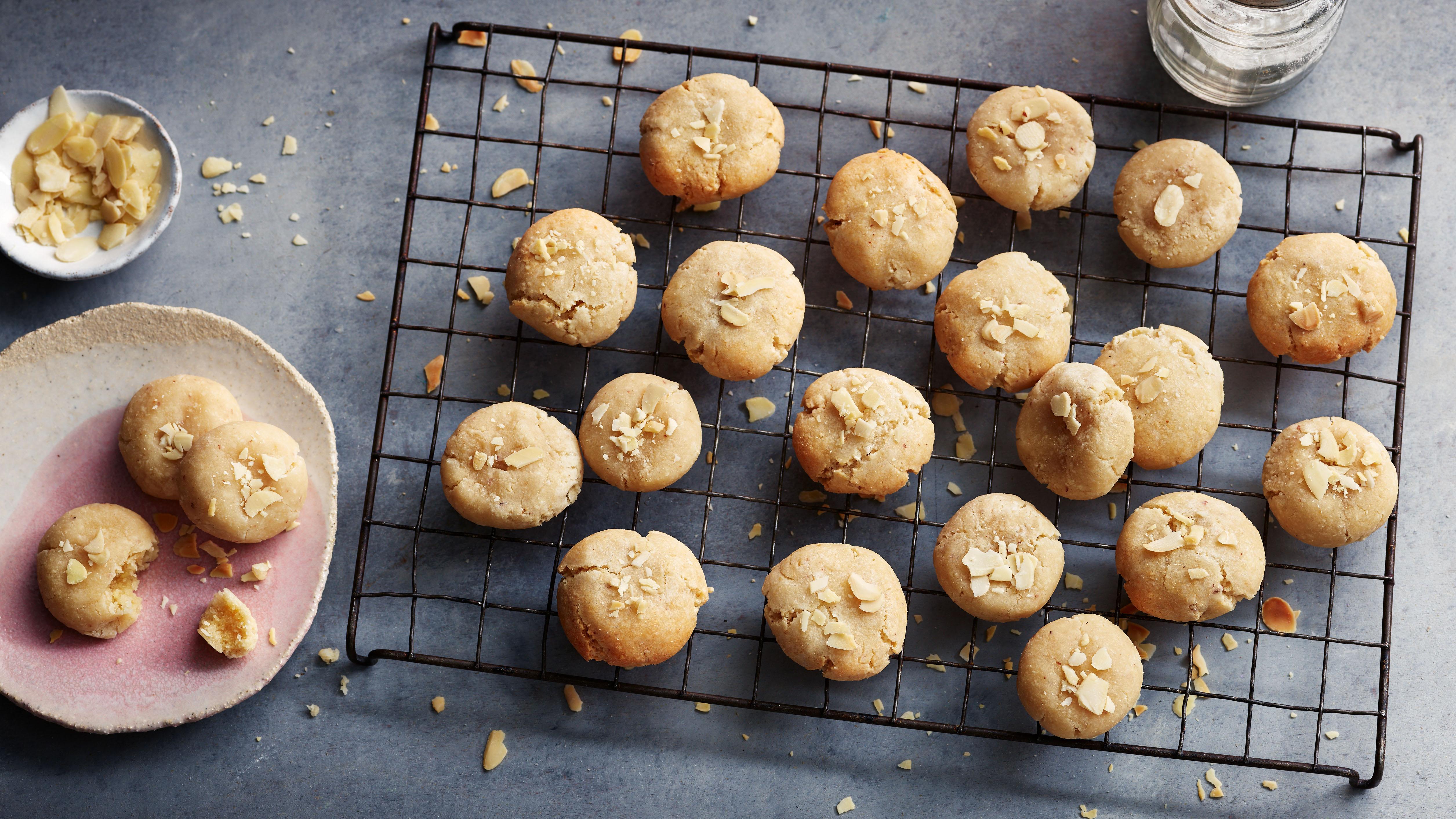 Gluten Free Almond Biscuits Recipe Bbc Food