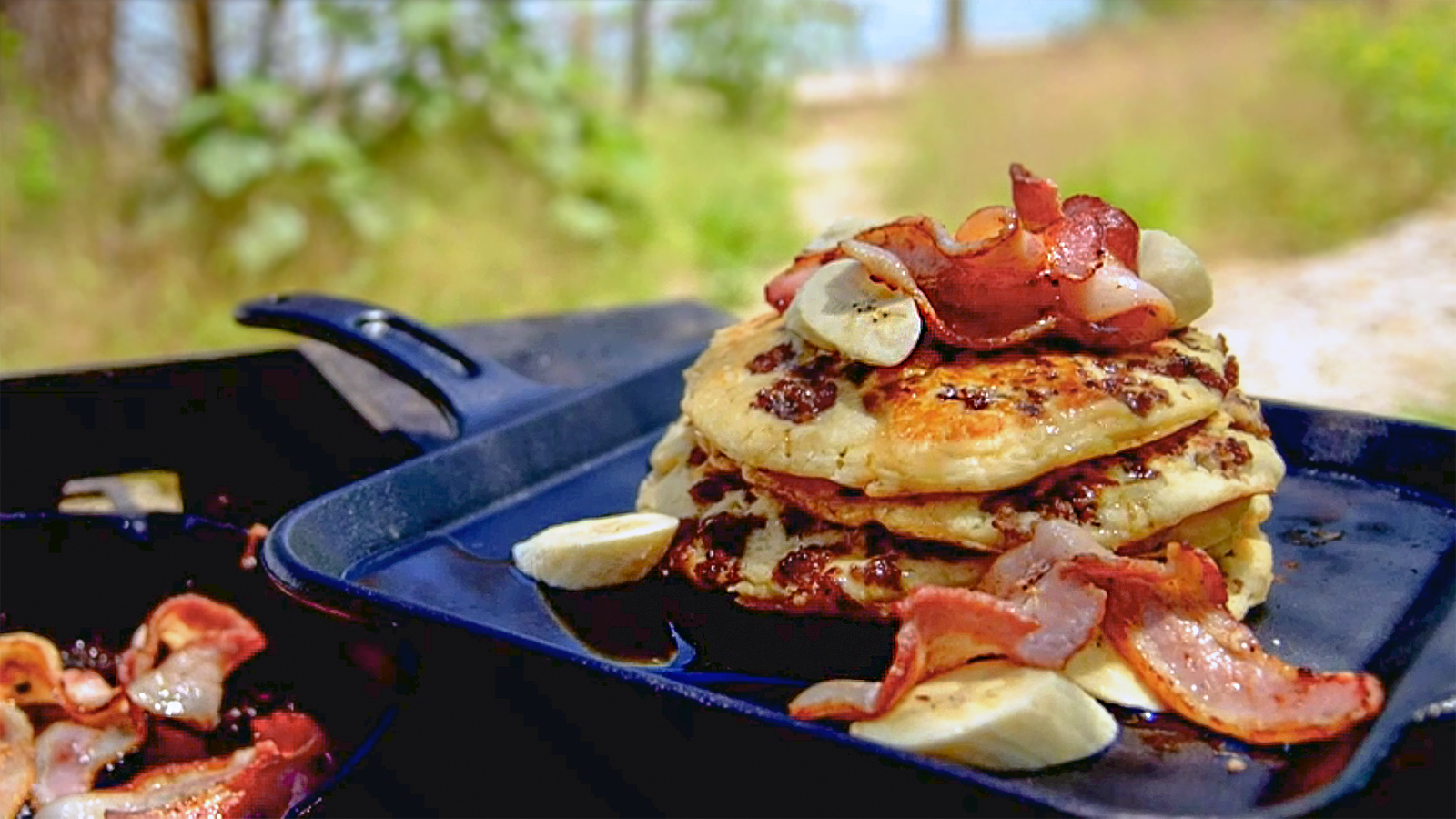 Pancakes with sausage: recipes and methods of preparation