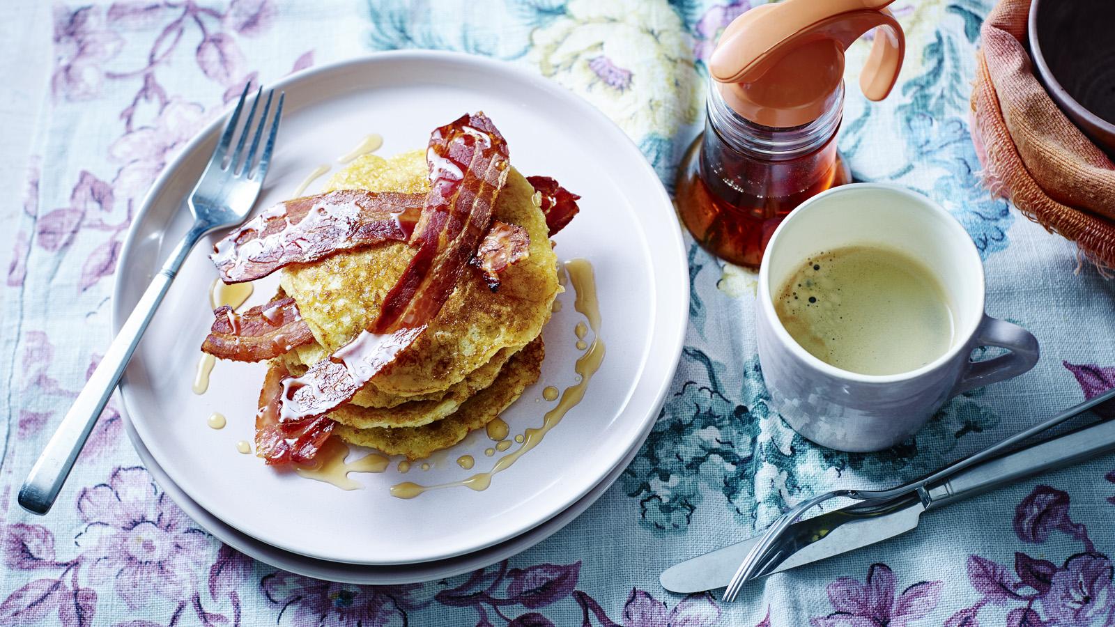Gluten free american buttermilk pancakes recipe bbc food forumfinder Choice Image