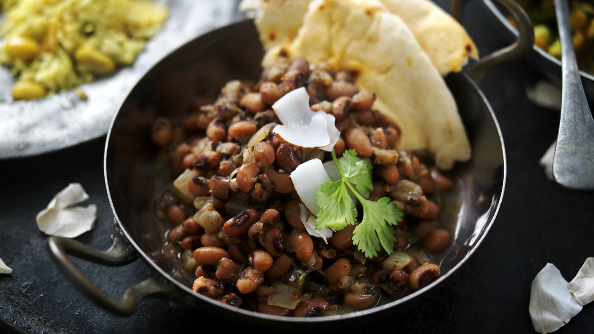 Vegan Blackeye Bean Curry Recipe Bbc Food
