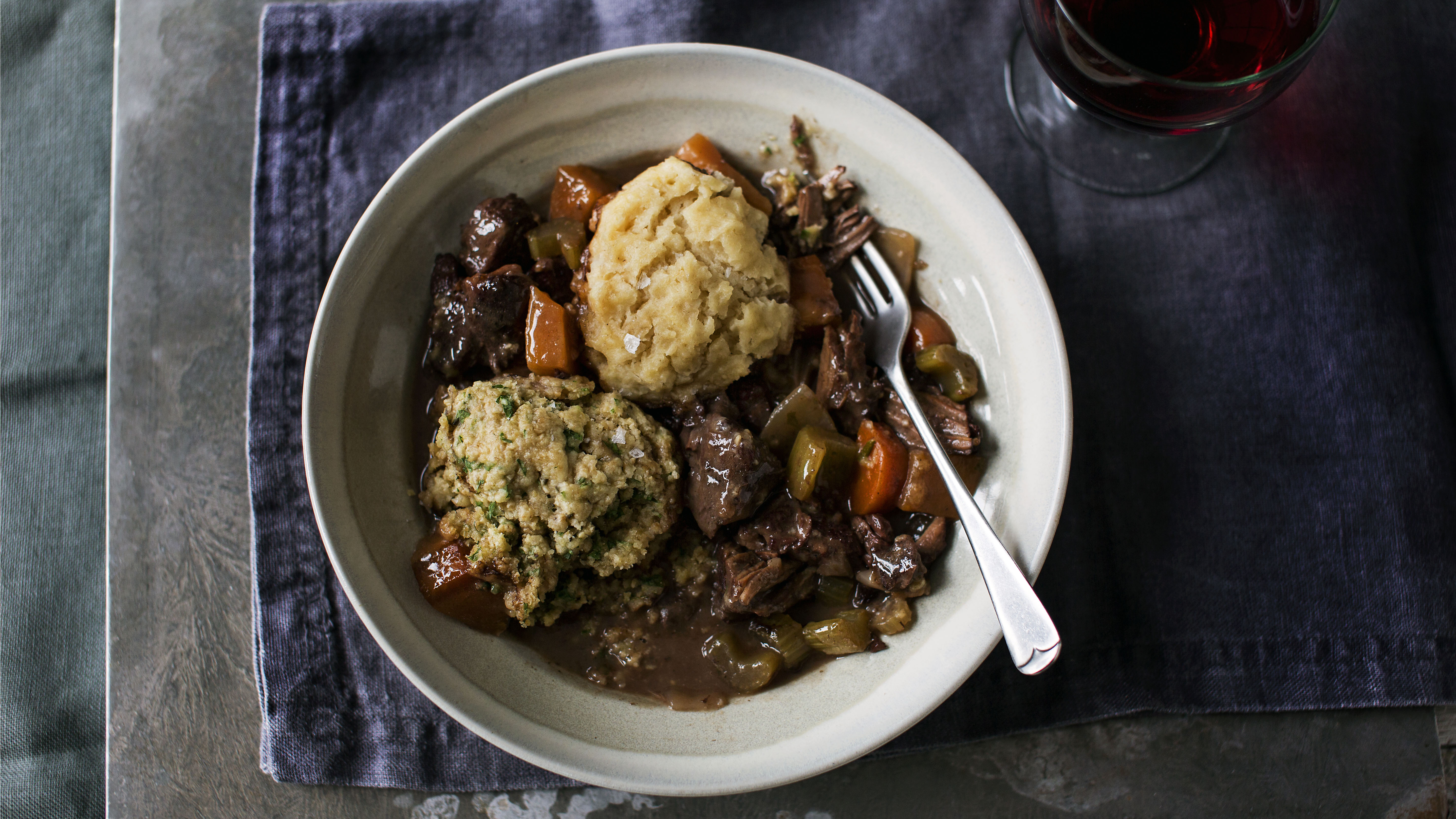 Beef Stew And Dumplings Recipe Bbc Food