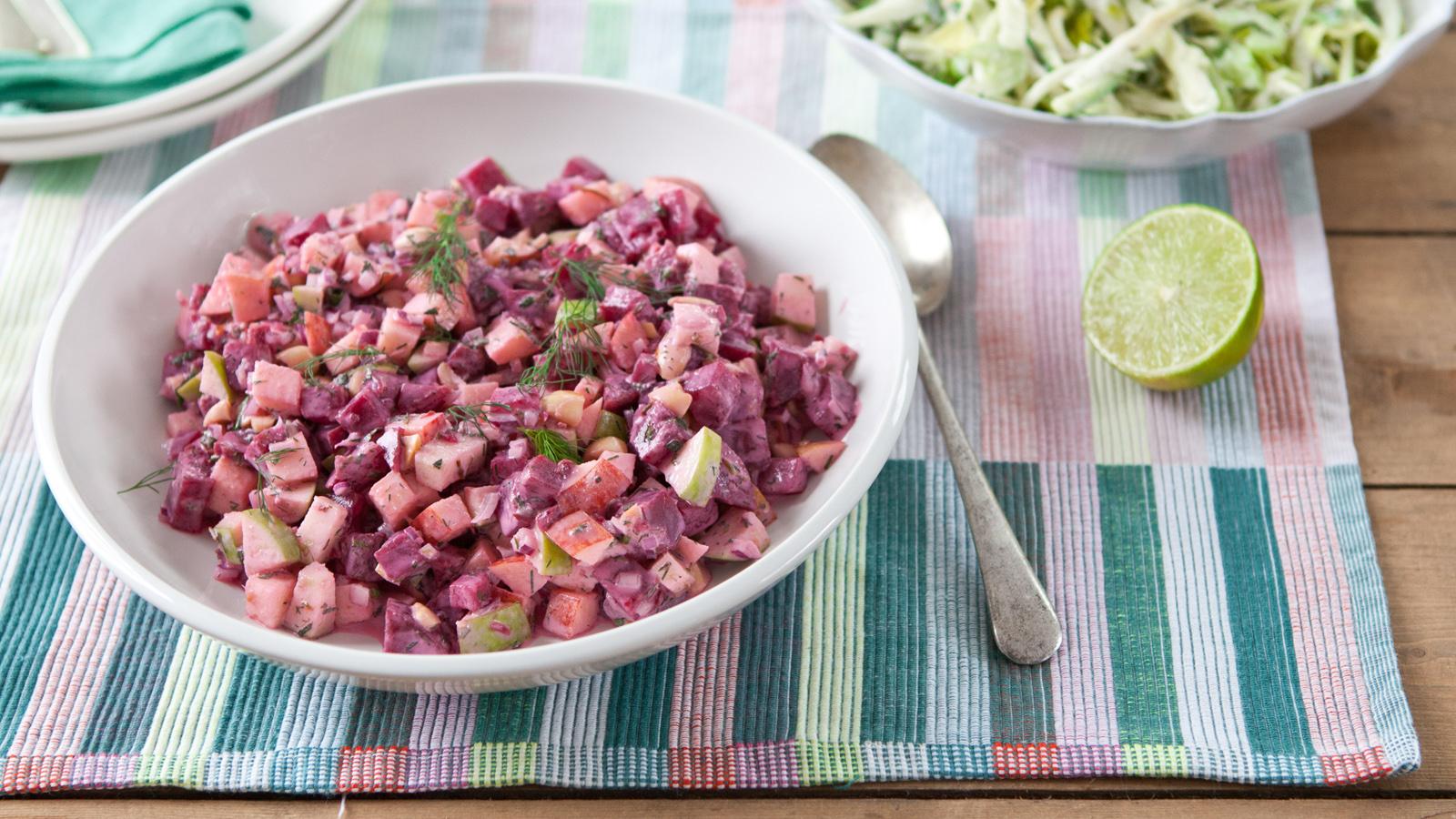 Beetroot Salad Recipe Bbc Food