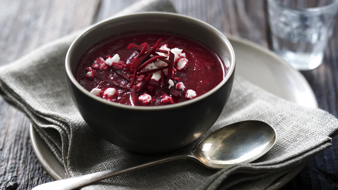 Beetroot Soup Recipe Bbc Food
