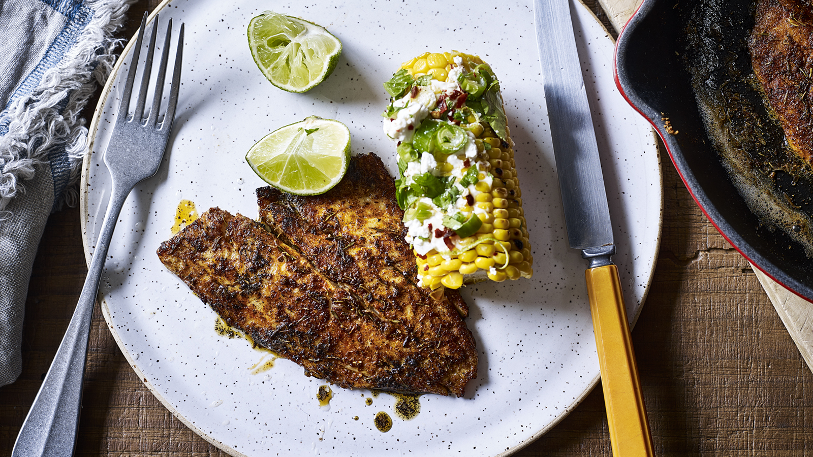Barbecued Fish Fillets Recipe Bbc Food