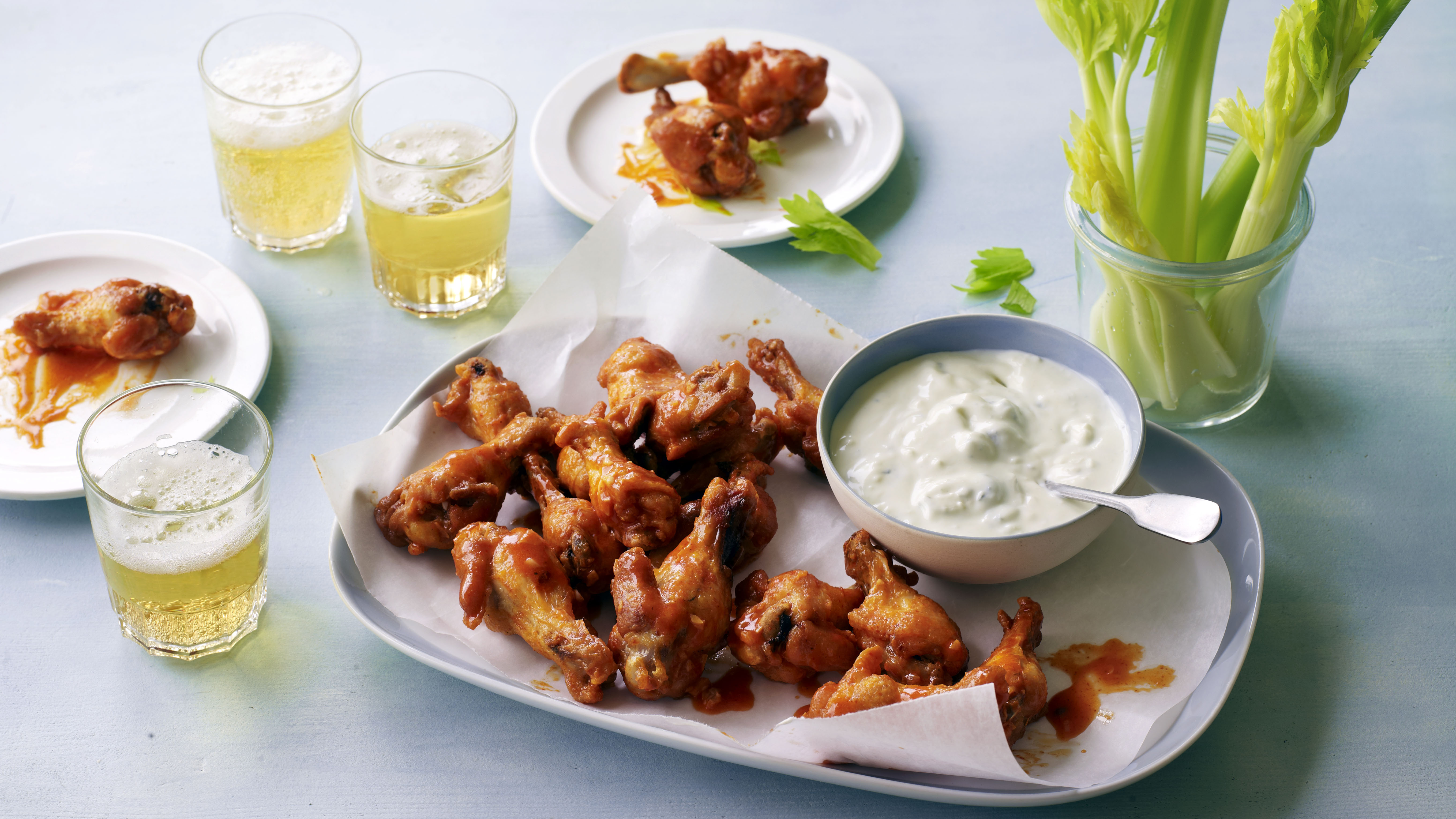 Buffalo Wings Recipe Bbc Food