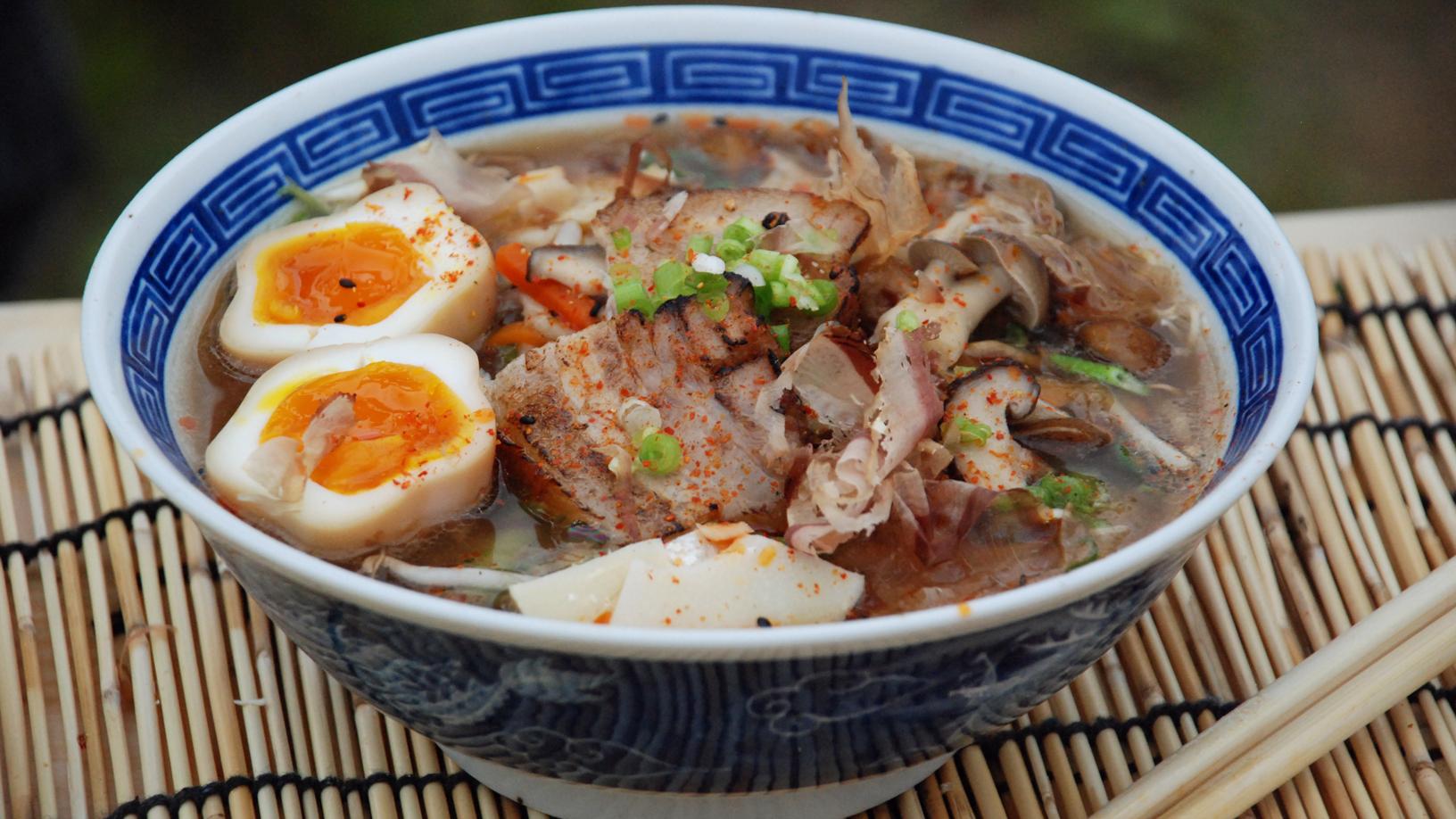 Chashu pork ramen recipe - BBC Food