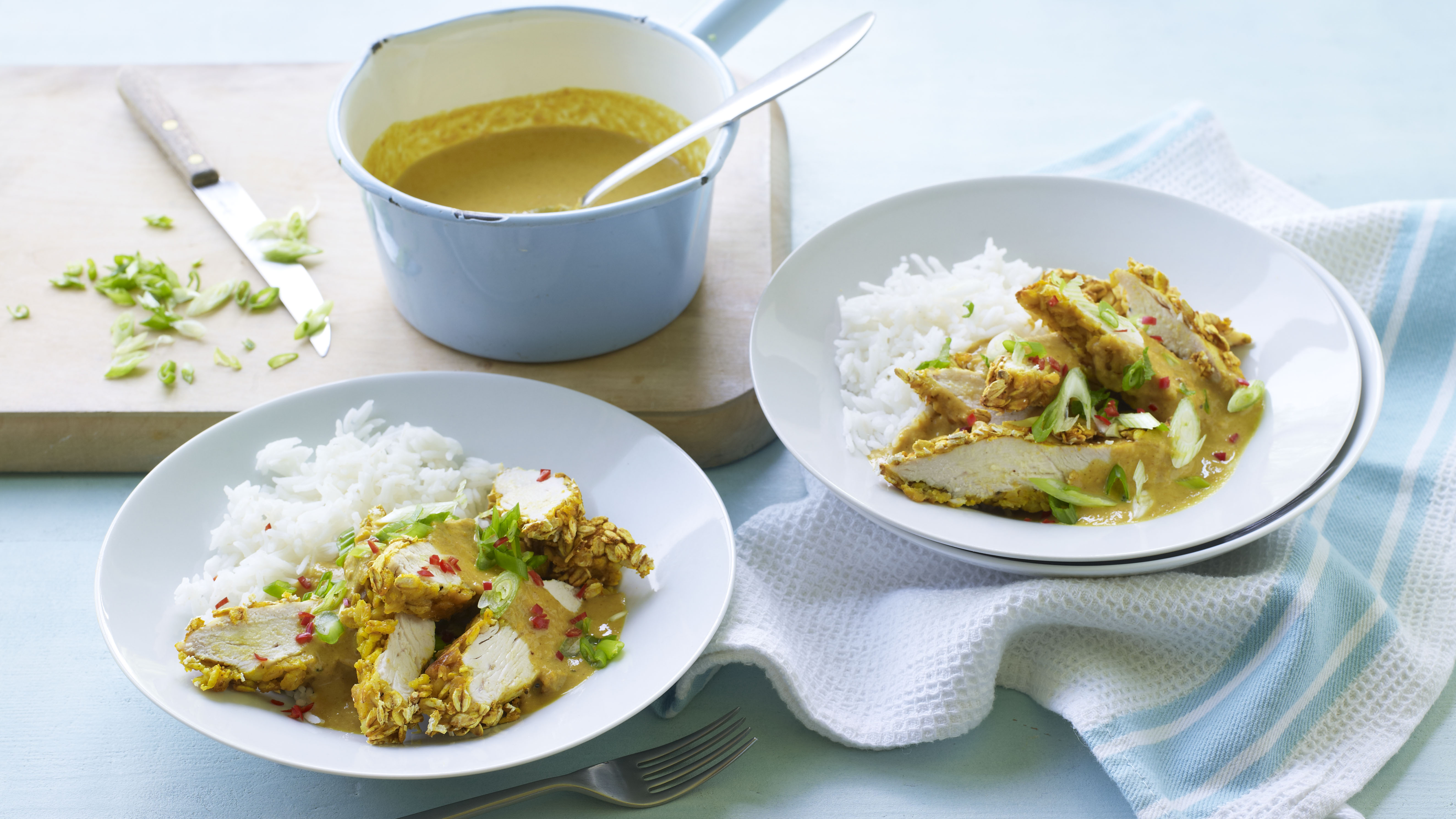 Cheats Chicken Katsu Curry