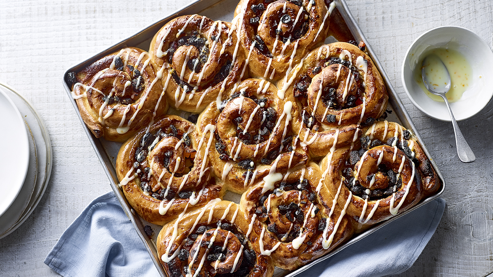 Paul Hollywood S Chelsea Buns Recipe Bbc Food