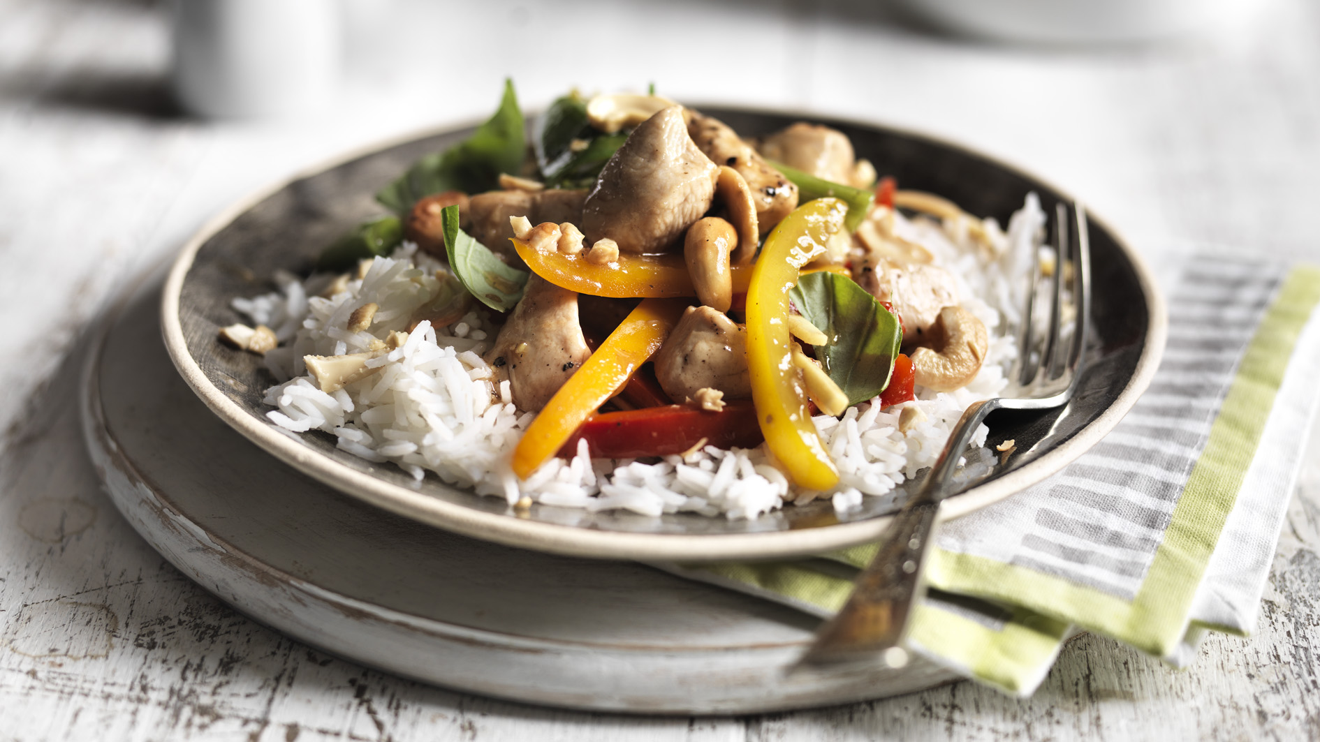 Healthy chicken stir fry with cashews recipe bbc food forumfinder Gallery