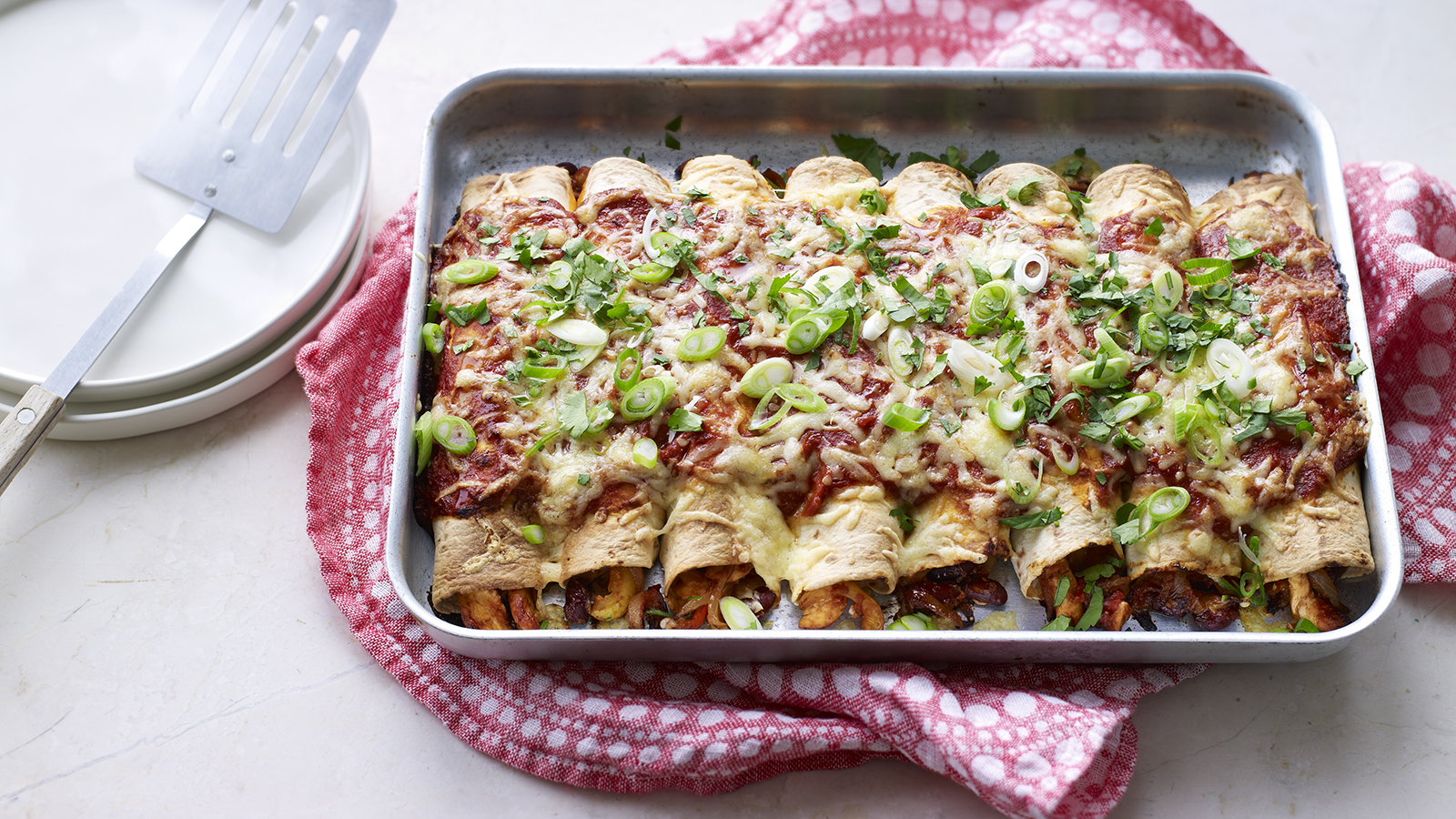 Chicken Enchiladas Recipe Bbc Food
