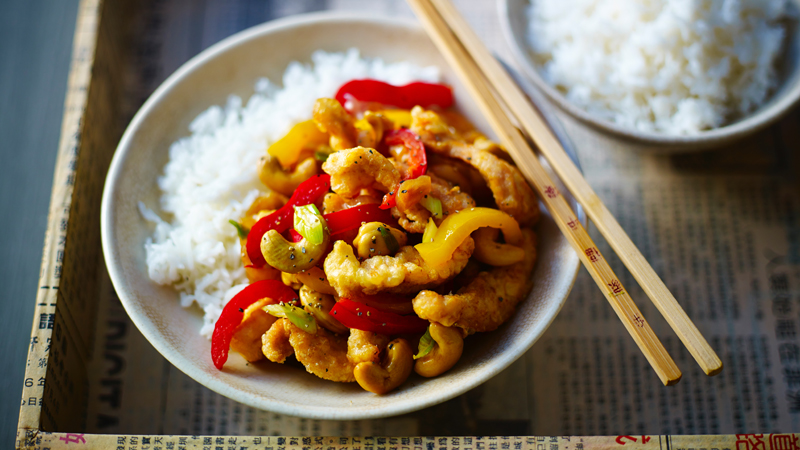 Chicken and cashew nut stir fry recipe bbc food forumfinder Gallery