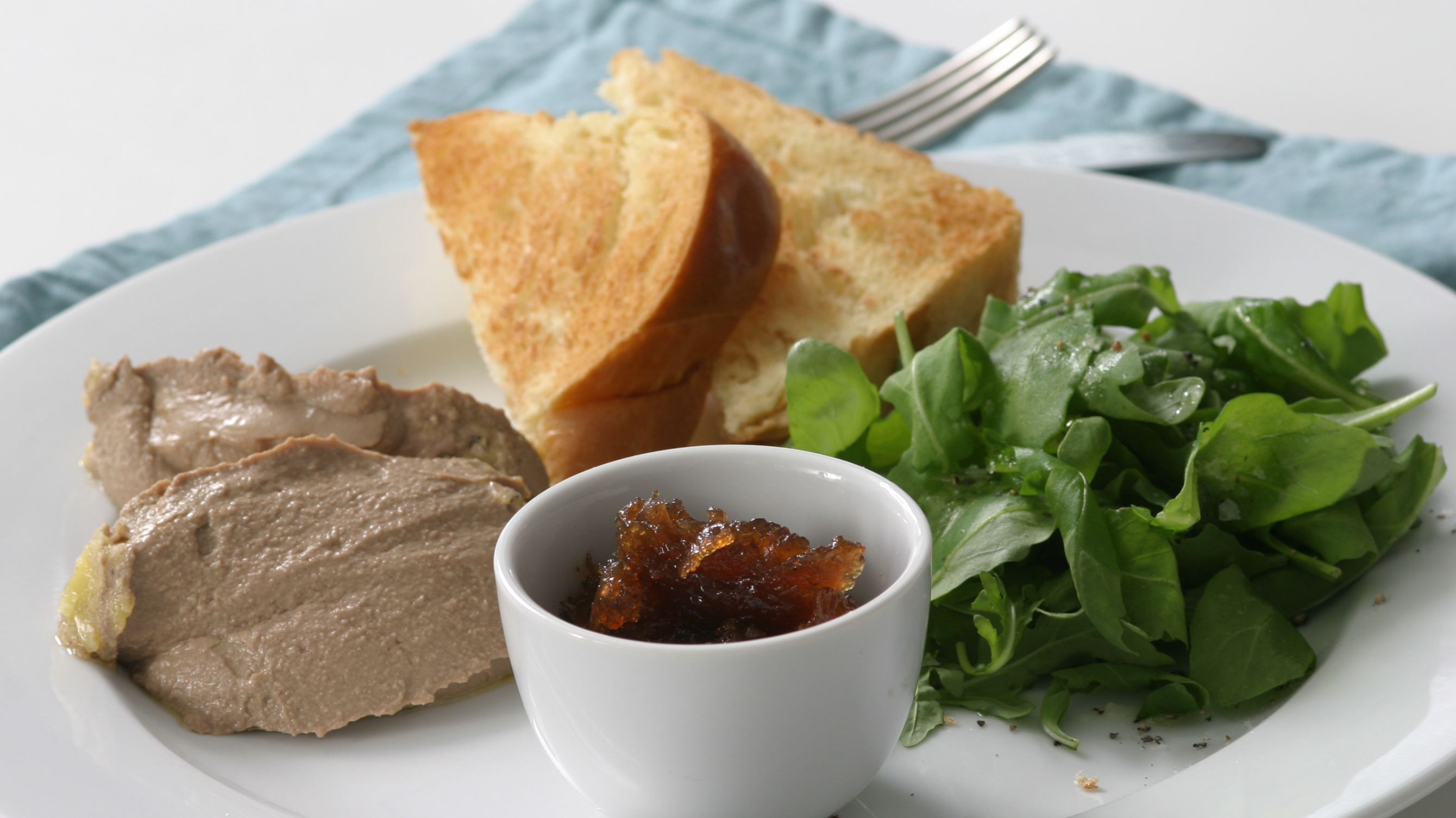 Chicken Liver Parfait With Brandy Recipe Bbc Food