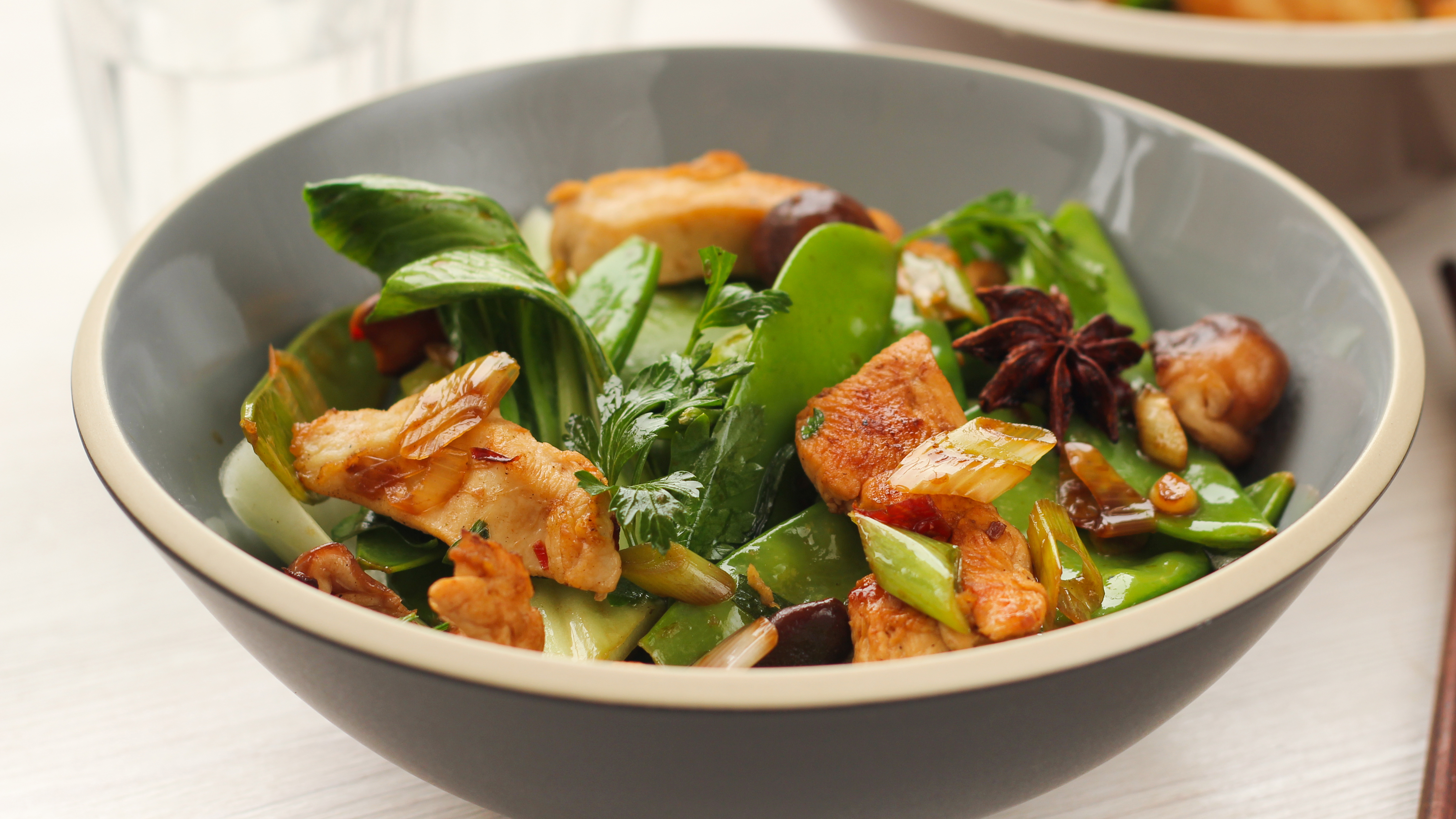 Chicken stir fried with pak choi recipe bbc food forumfinder Gallery