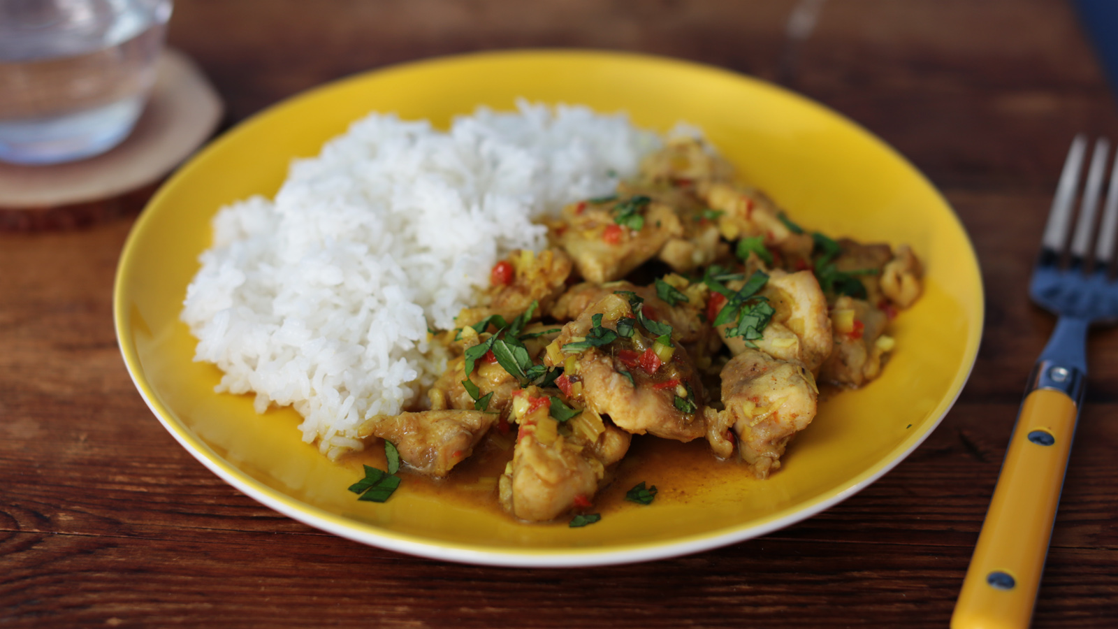 Chilli And Lemongrass Chicken Recipe Bbc Food