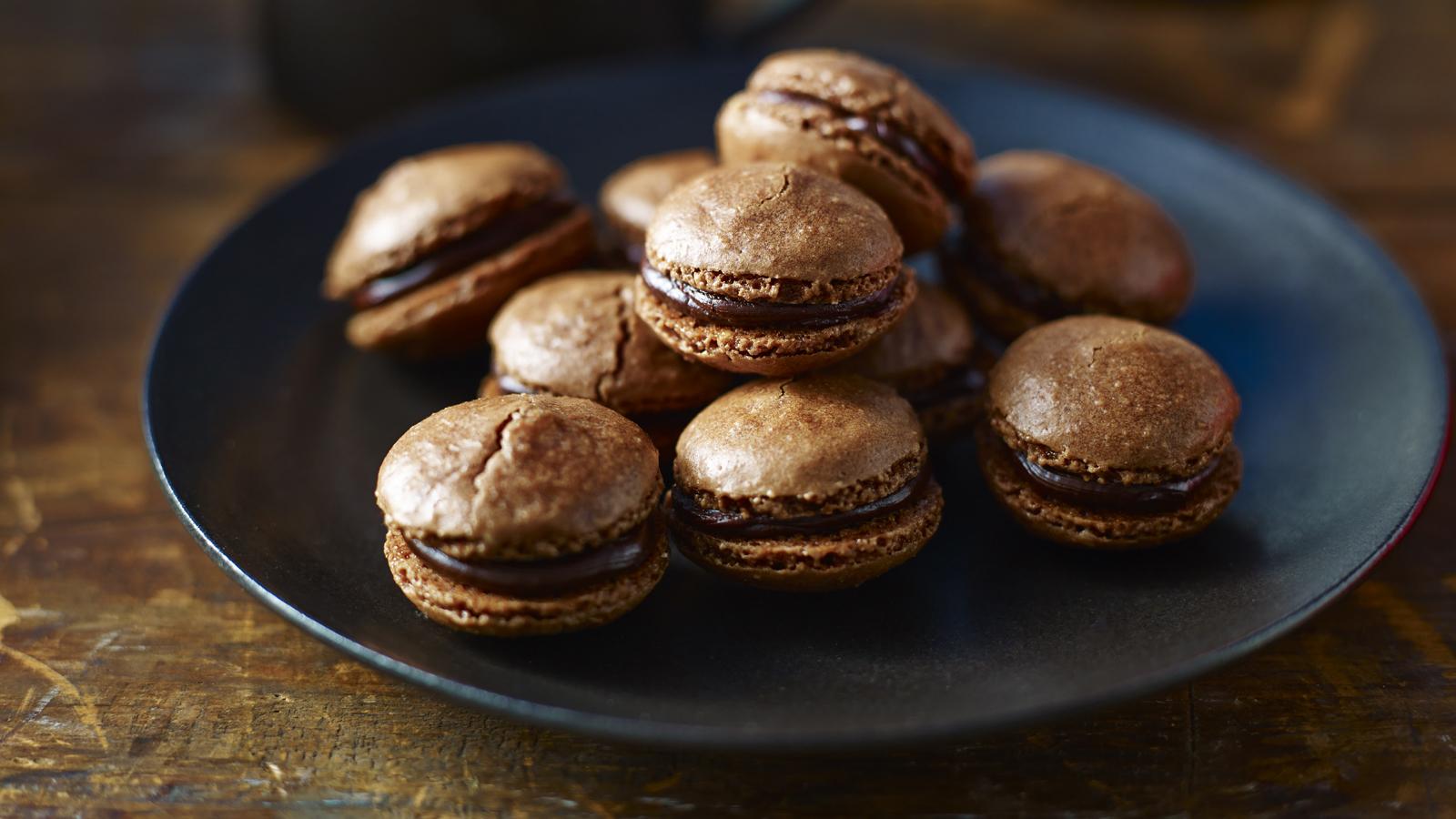 Chocolate Macaroons Recipe Bbc Food