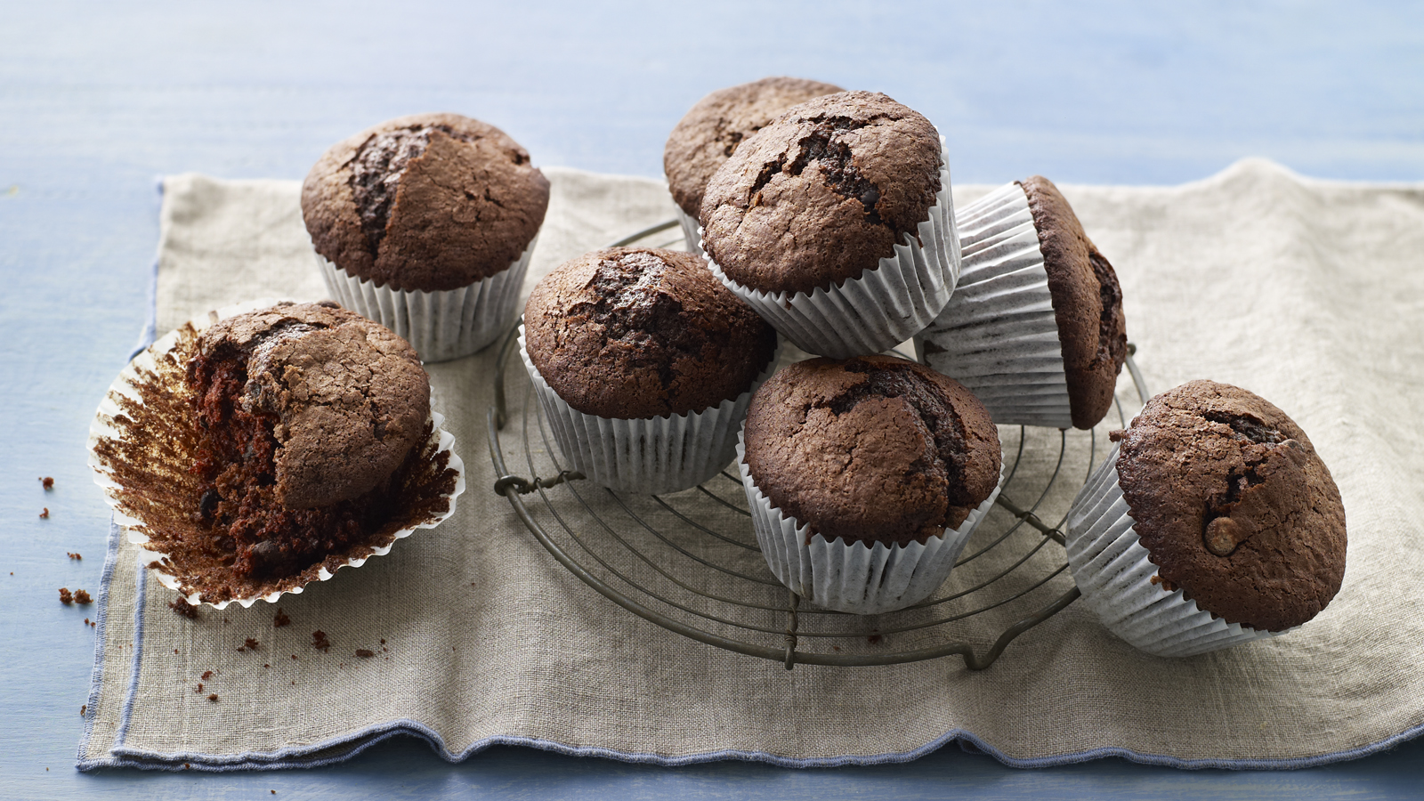 Double Chocolate Muffins Recipe Bbc Food