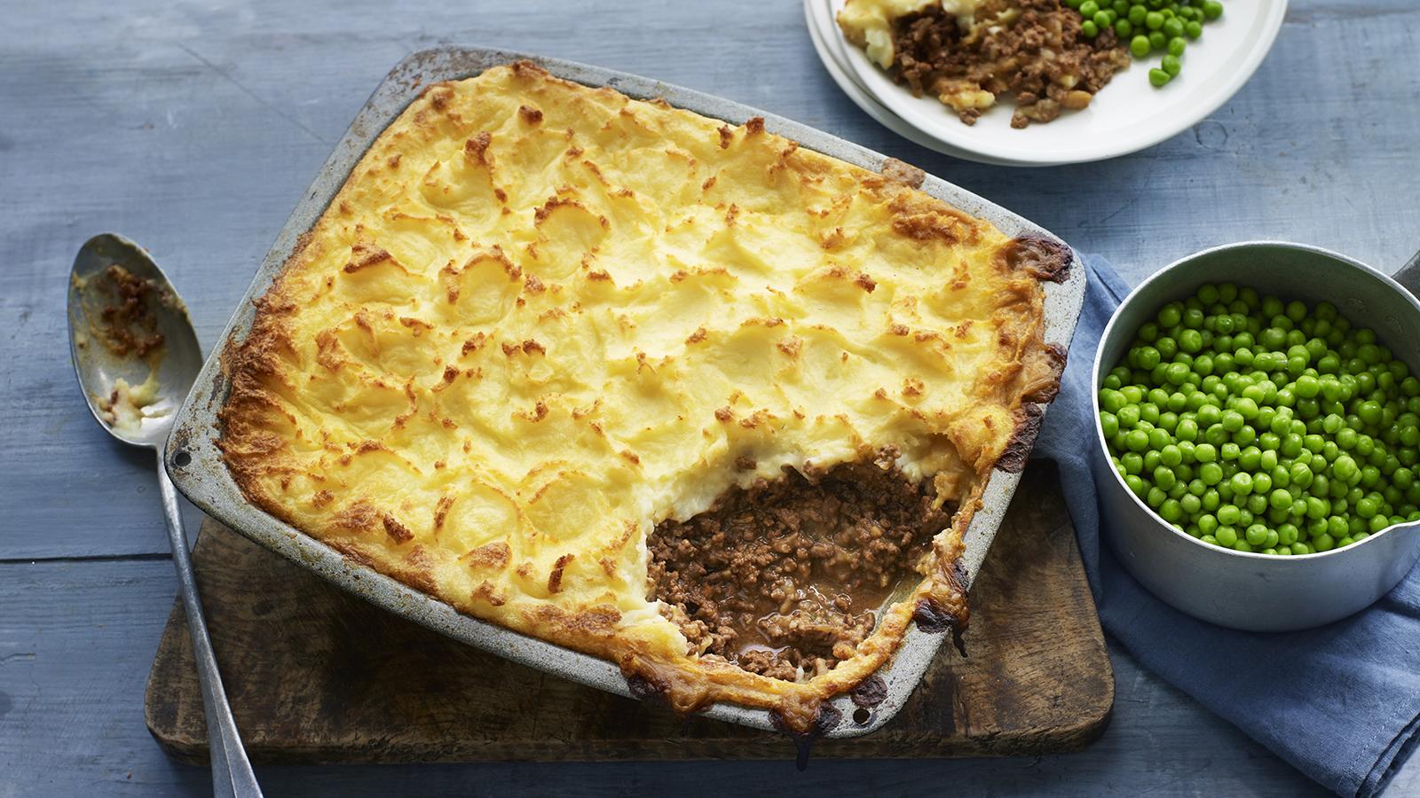 Easy Cottage Pie Recipe Bbc Food