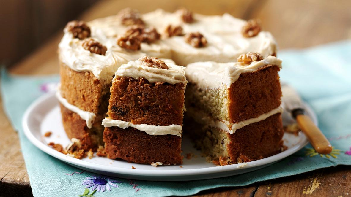 Coffee And Walnut Cake Recipe Bbc Food