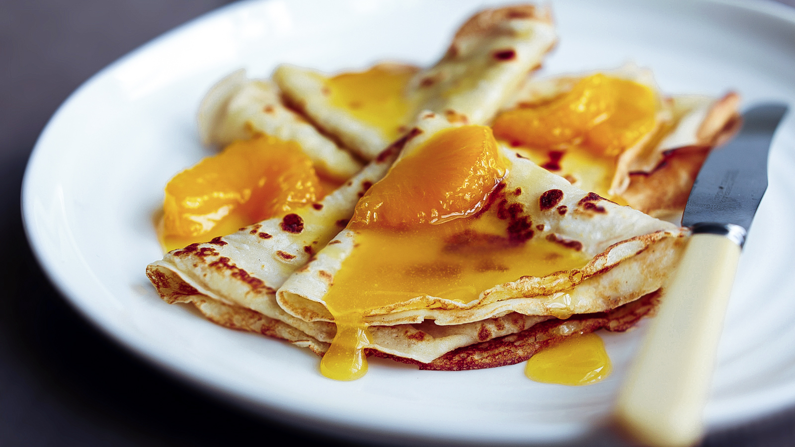 Crepes With Orange Butter Sauce Recipe Bbc Food