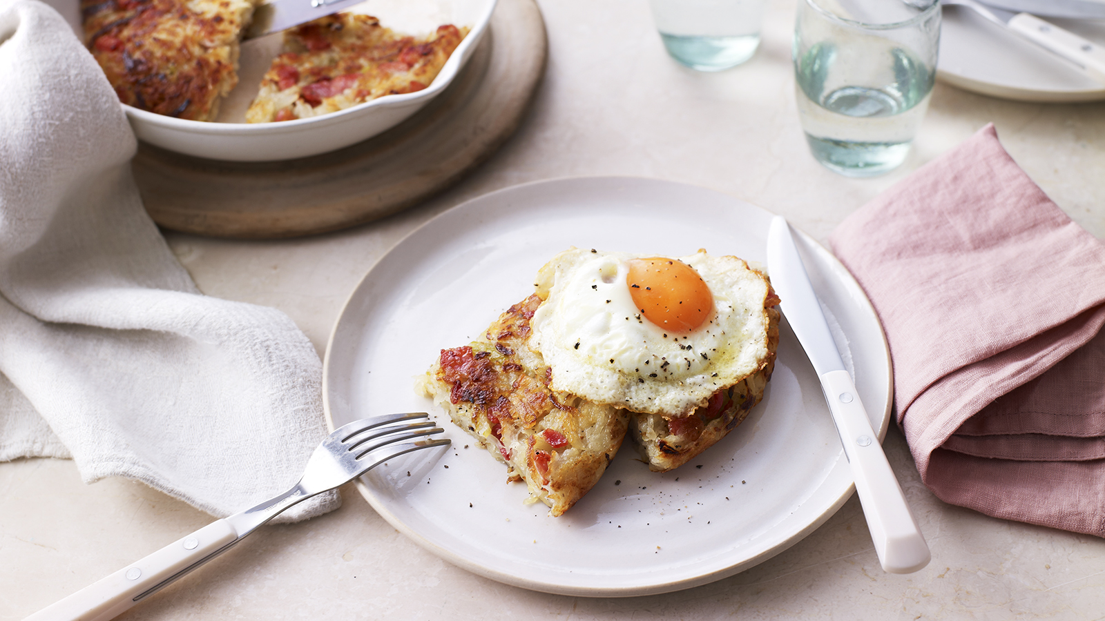Communication on this topic: Potato Rosti with Poached Egg and Bacon , potato-rosti-with-poached-egg-and-bacon/