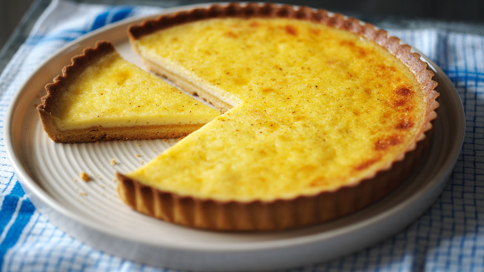 Custard Tart Recipe Bbc Food