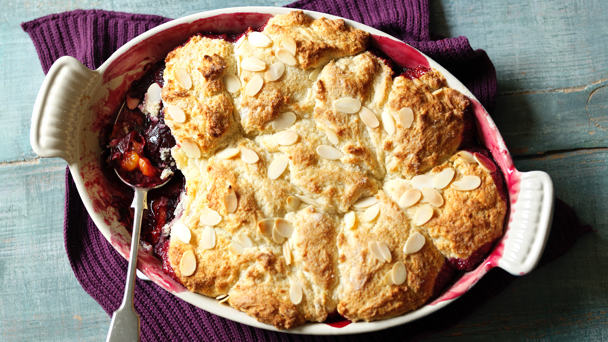 Damson Cobbler Recipe Bbc Food