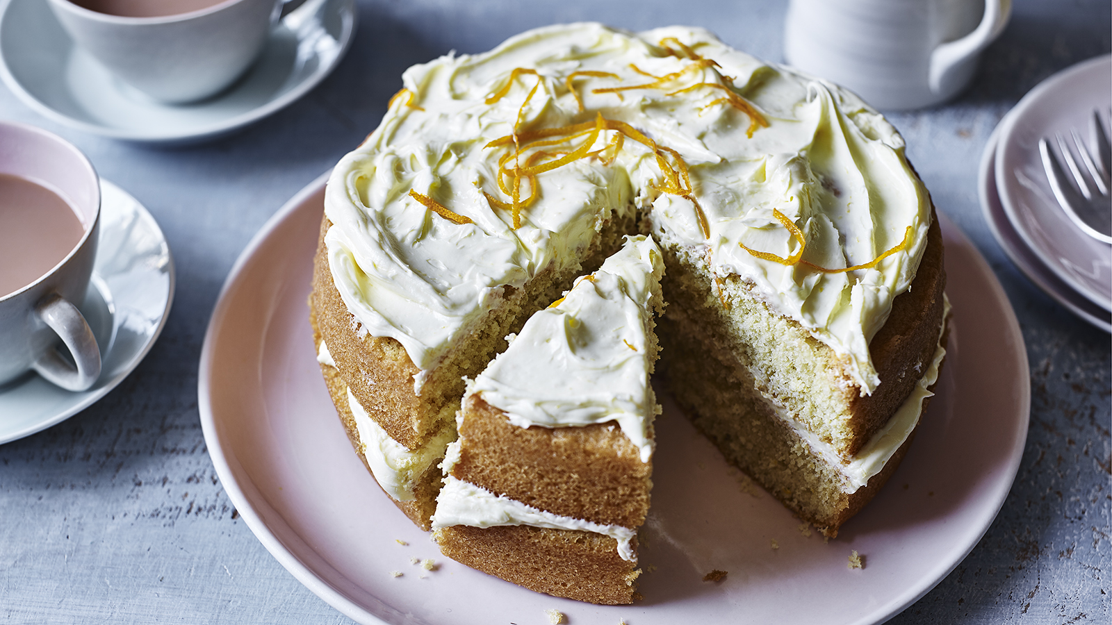 Strange Mary Berrys Orange Cake Recipe Bbc Food Funny Birthday Cards Online Aeocydamsfinfo