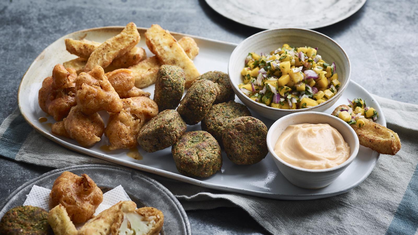 Dirty Veggie Starter Platter Recipe Bbc Food