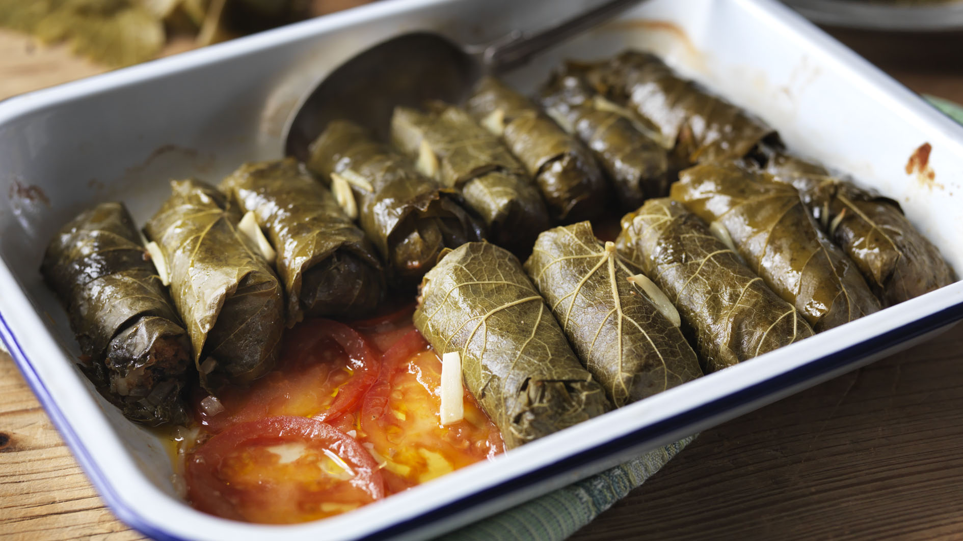 Dolmades recipe - BBC Food
