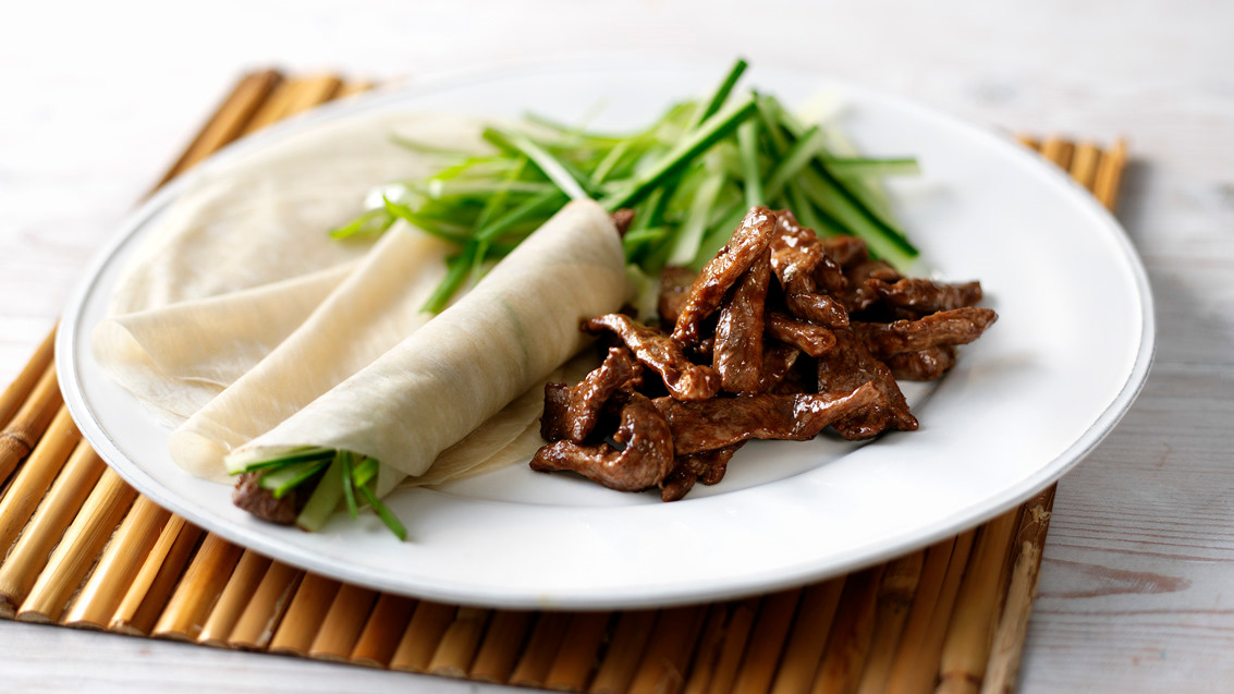 Duck Pancakes Recipe Bbc Food