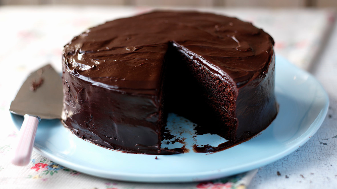 easy chocolate cake recipe bbc food