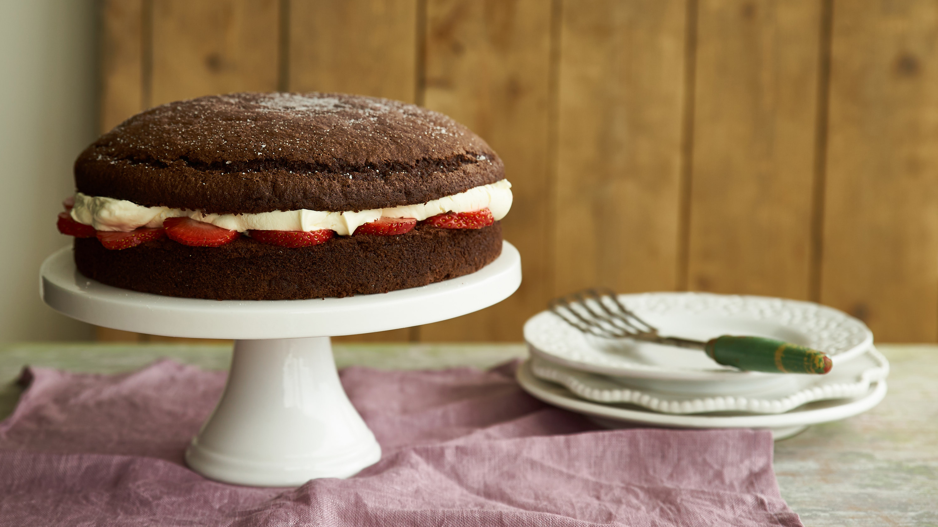 Egg free sponge cake recipe bbc food forumfinder Image collections
