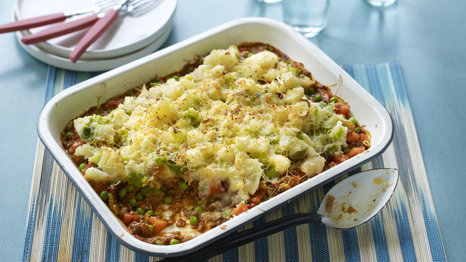 Healthy Cottage Pie Recipe Bbc Food
