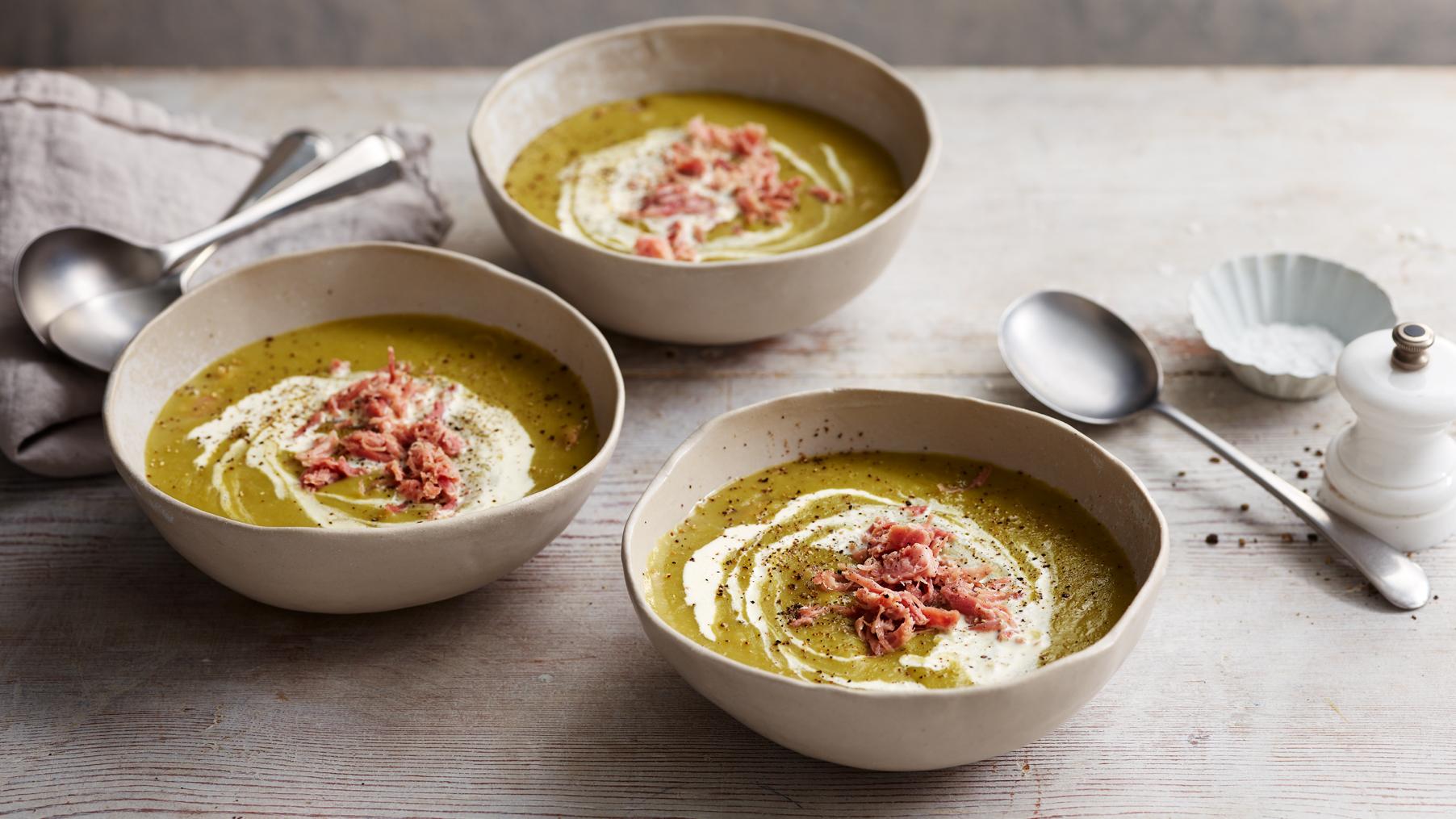 Finnish split pea soup recipe - BBC Food