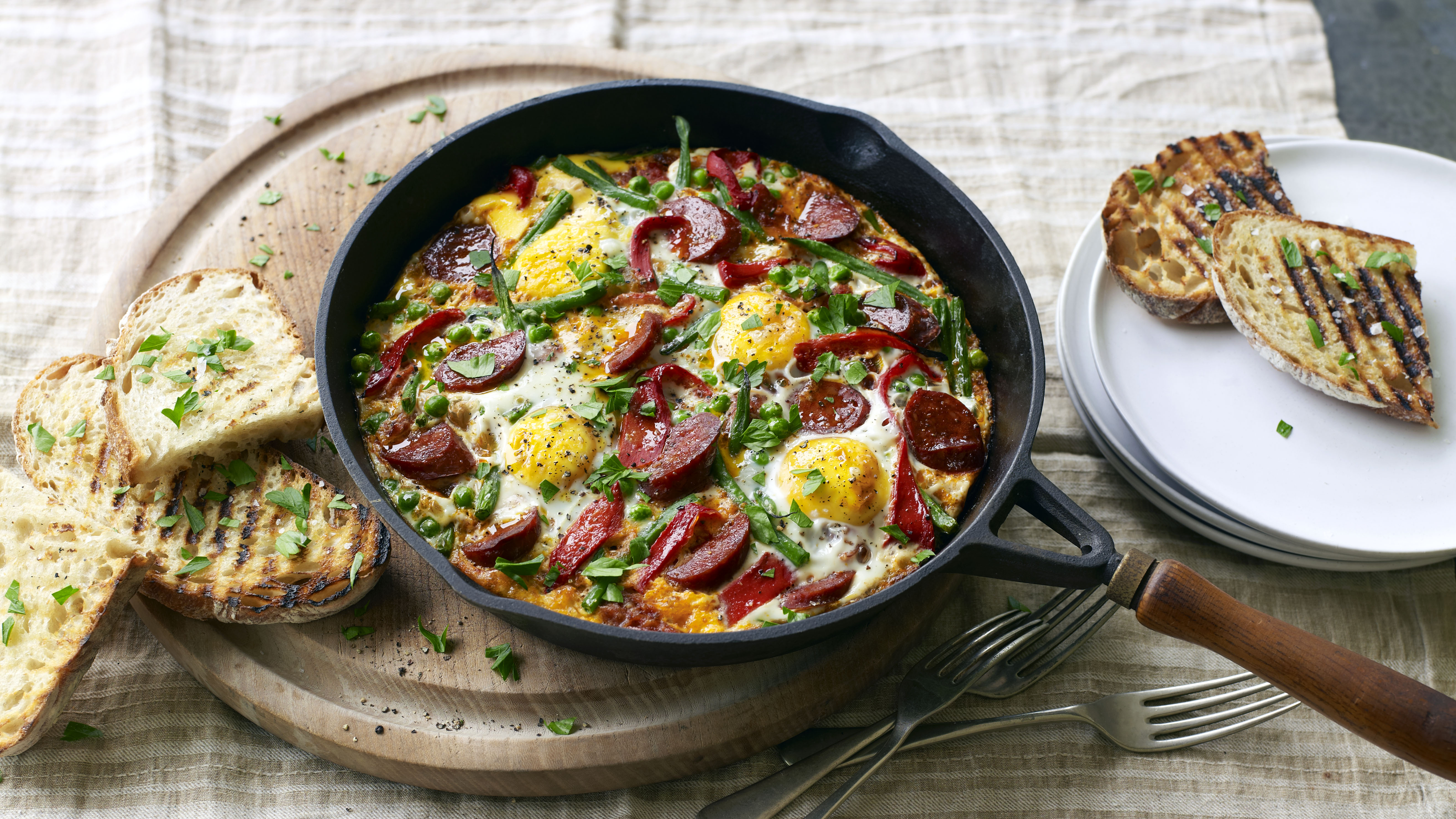 Flamenco eggs recipe bbc food forumfinder Choice Image