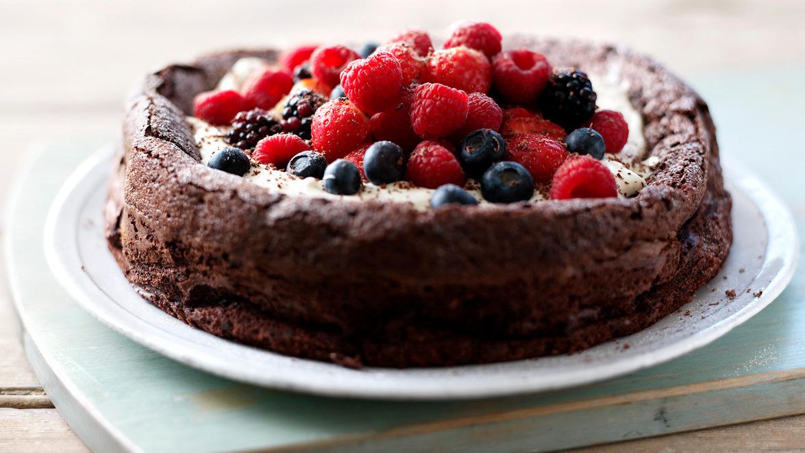 Flourless chocolate cake recipe bbc food forumfinder Images