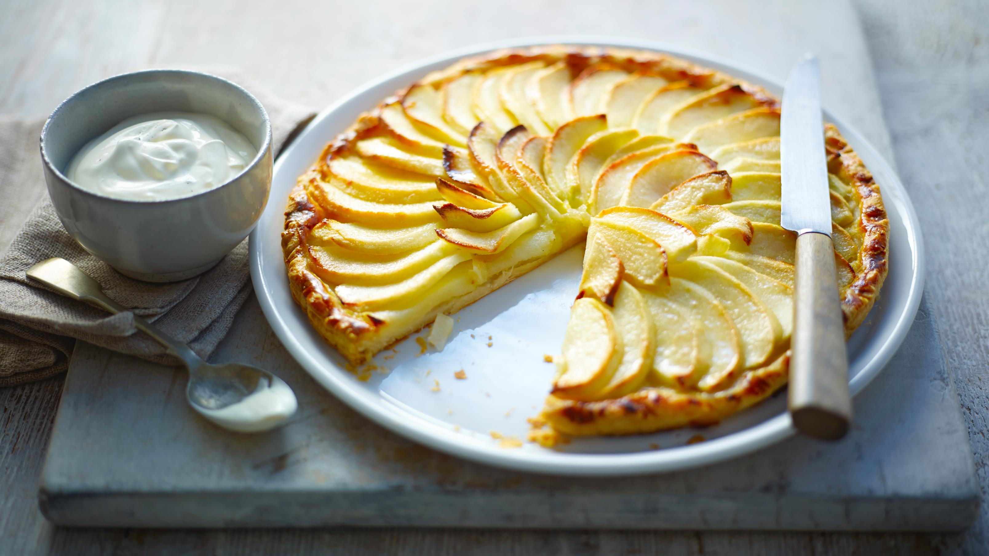 Apple Tart Recipe Bbc Food