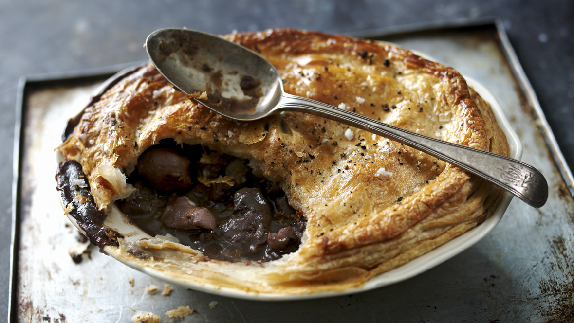 Game pie recipe bbc food forumfinder