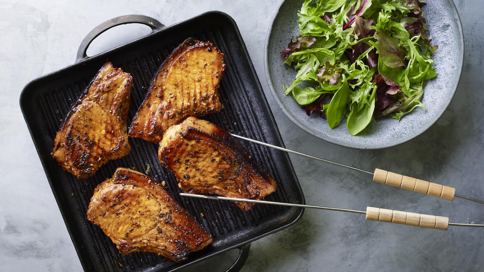 grilled pork chop recipe with paprika Grilled pork chops