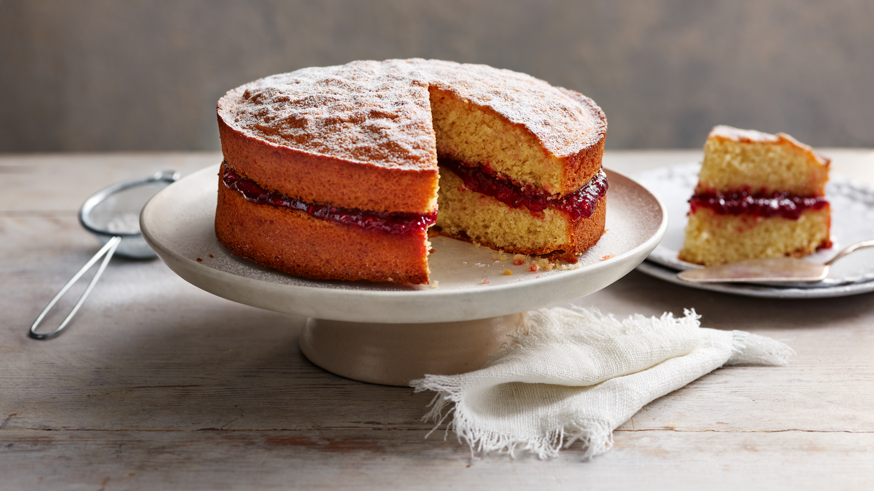 Gluten Free Victoria Sponge Cake Recipe Bbc Food