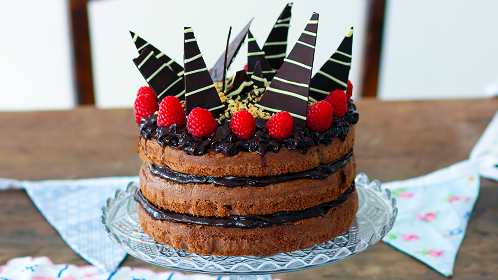 Wondrous Birthday Chocolate Cake Recipe Bbc Food Funny Birthday Cards Online Barepcheapnameinfo