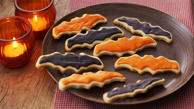 halloween biscuits recipe - bbc food