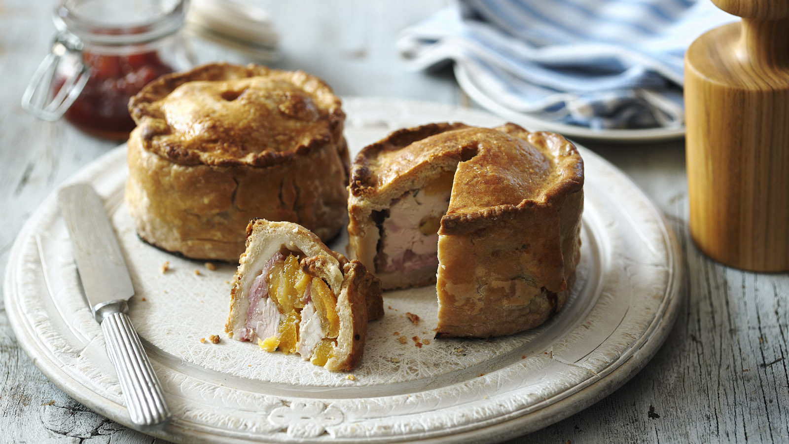 Hot Water Crust Pastry Hand Raised Chicken and Ham Pie Recipe recommendations