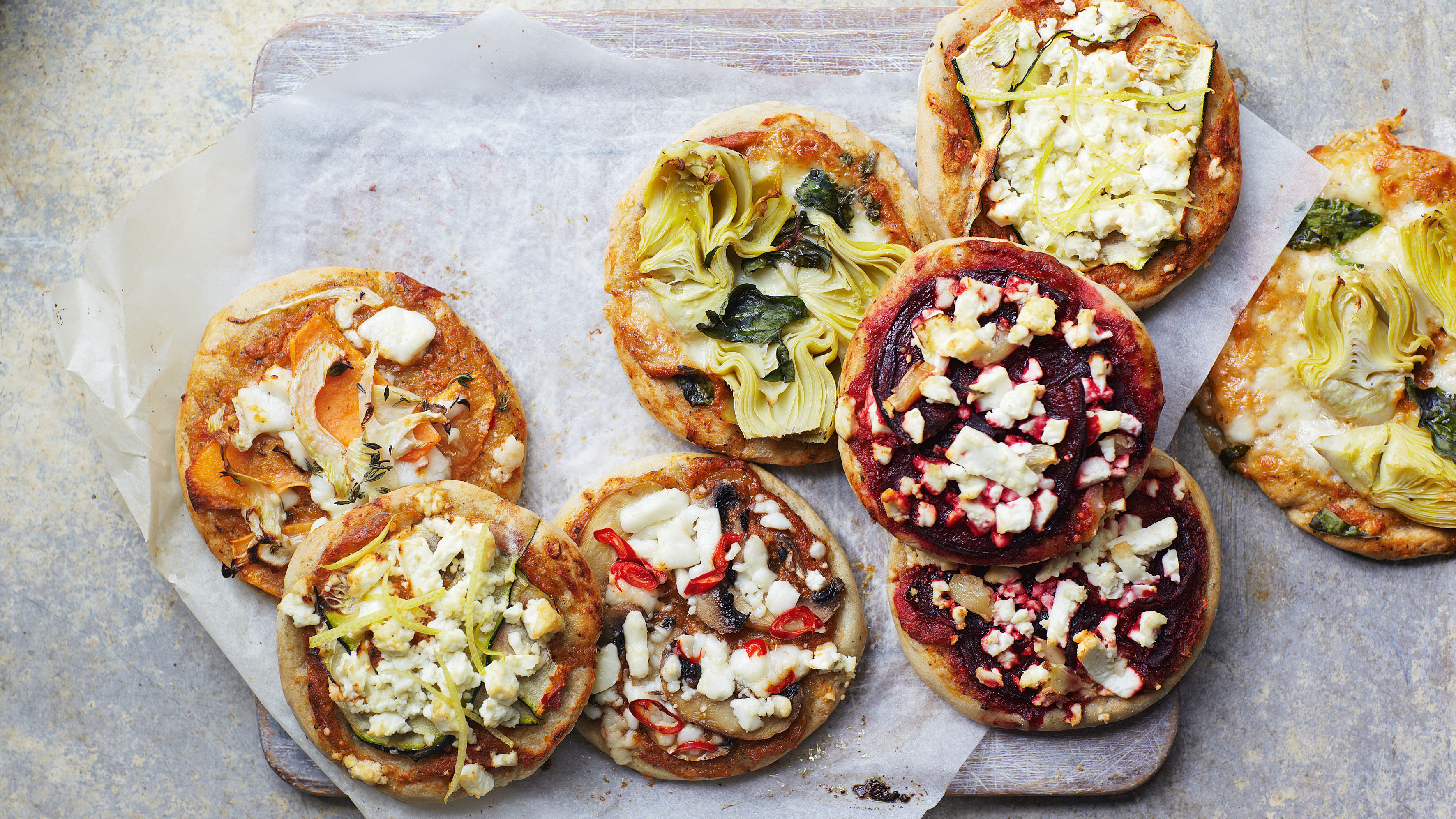 Healthy Mini Pizzas Recipe Bbc Food