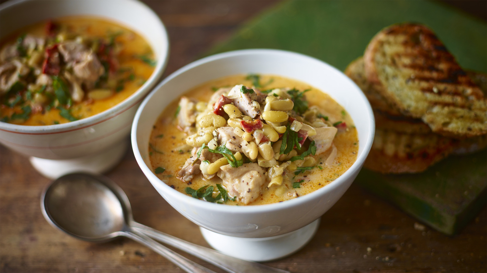 Hearty chicken and chorizo broth recipe bbc food forumfinder