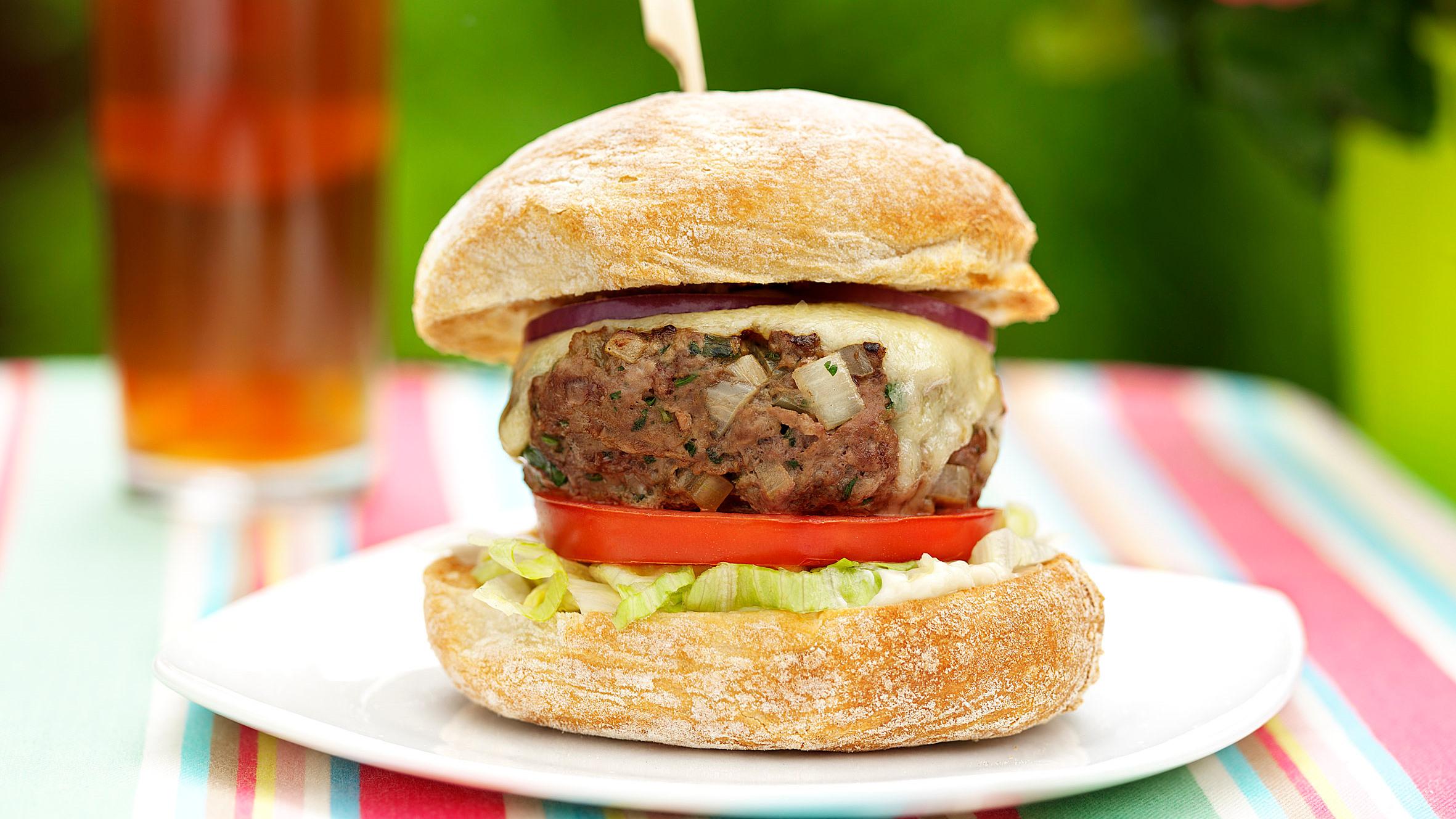 Classic Cheeseburgers Recipe Bbc Food