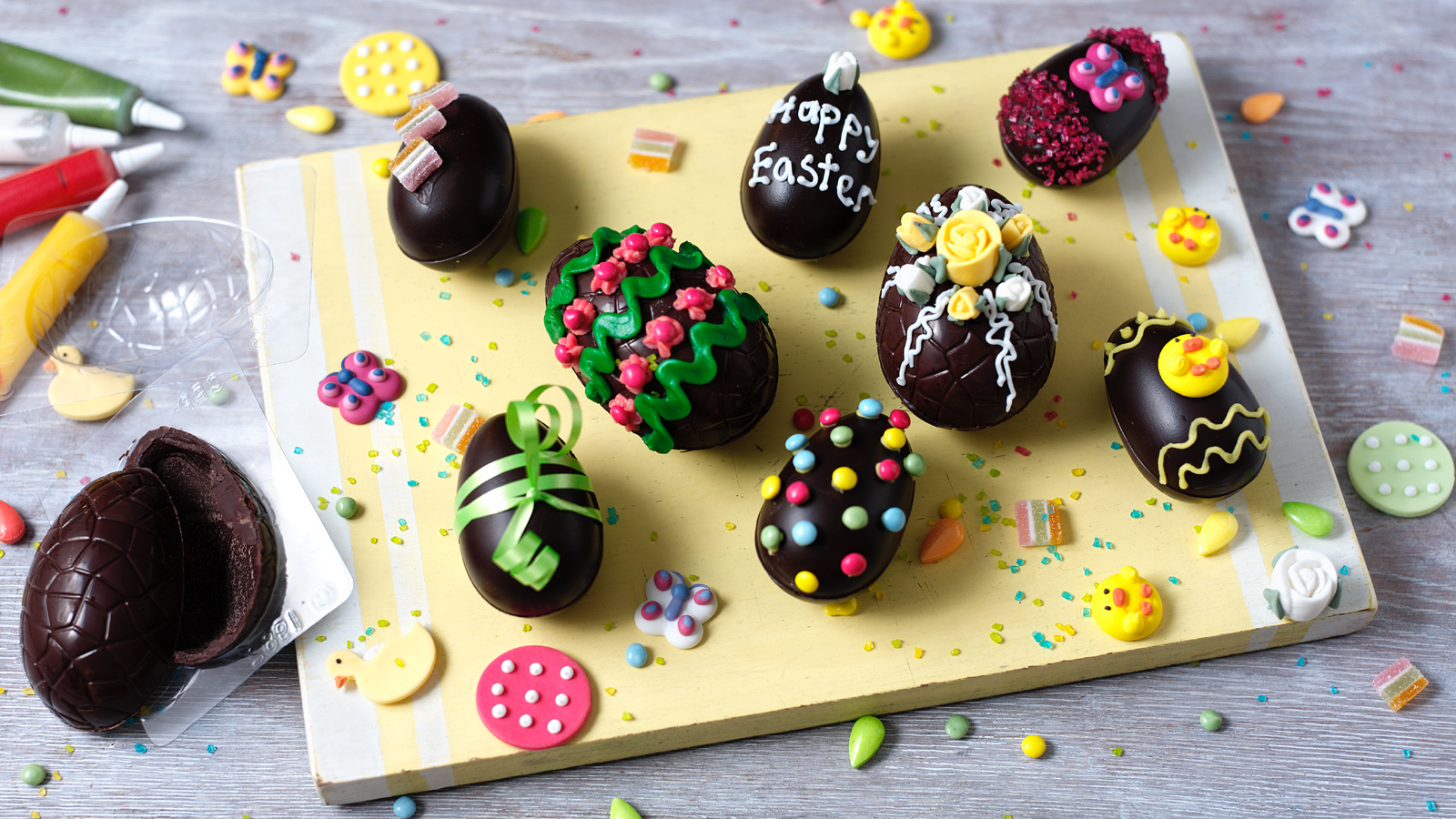 Homemade Easter Eggs Recipe Bbc Food