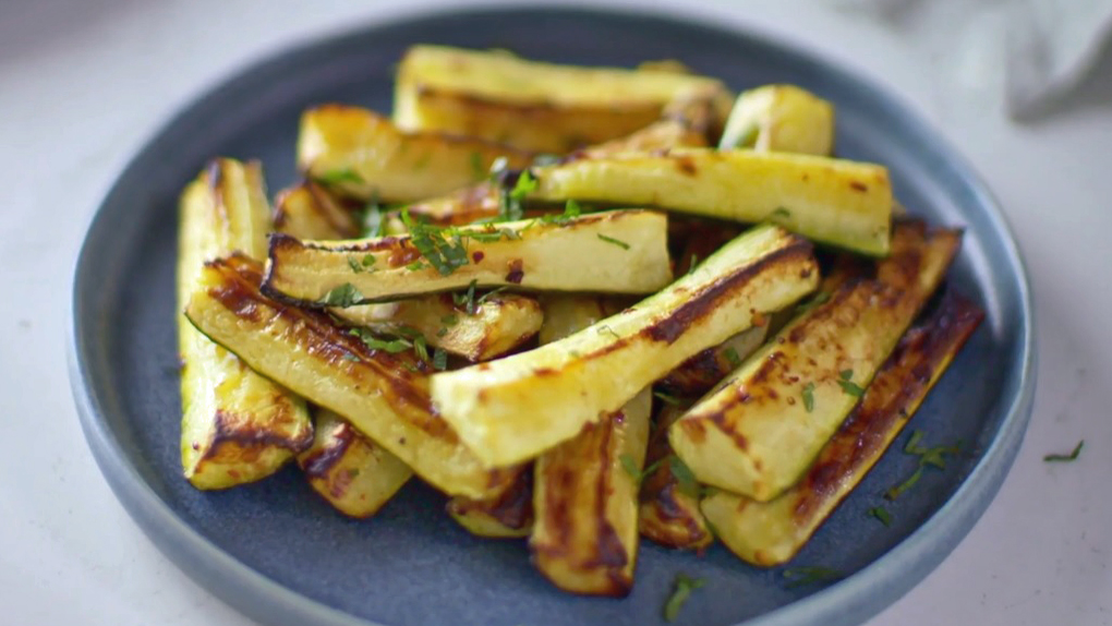 How To Cook Courgettes Recipe Bbc Food