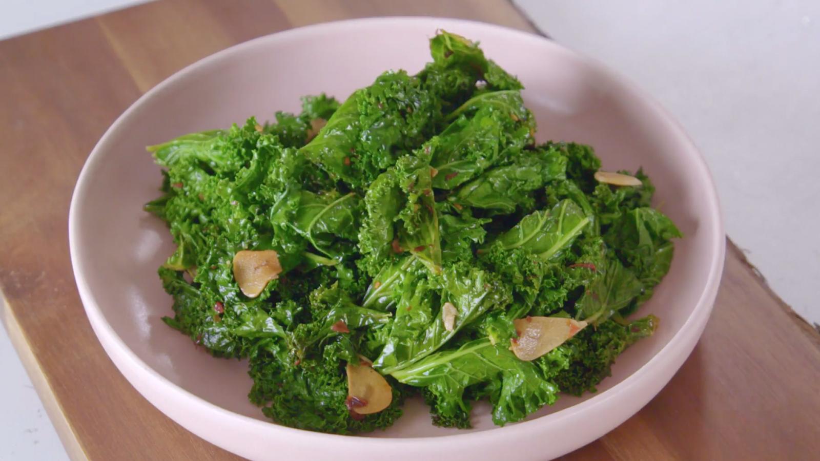 Kale Recipe Recipe Bbc Food