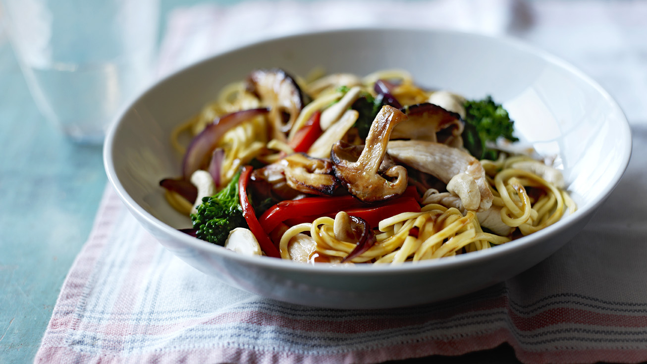 Chicken noodle stir fry recipe bbc food forumfinder Gallery